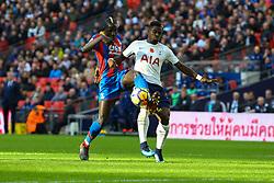 Serge Aurier of Tottenham Hotspur tackles Mamadou Sakho of Crystal Palace - Mandatory by-line: Jason Brown/JMP - 05/11/2017 - FOOTBALL - Wembley Stadium - London, England - Tottenham Hotspur v Crystal Palace - Premier League