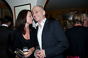 TRISHA SIMONON; DINOS CHAPMAN, BRIONI FRAGRANCE LAUNCH. Annabels. Berkeley Sq. London. 14 October 2009.