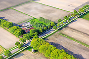 Nederland, Provincie, Plaats, 27-05-2013;<br /> Deurnese Peel Langstraat kruising met  Padbrugseweg.<br /> luchtfoto (toeslag op standard tarieven)<br /> aerial photo (additional fee required)<br /> copyright foto/photo Siebe Swart