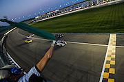 Start of race #1 at Kansas Speedway.