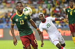 January 15, 2017 - Libreville, Gabon - Yacouba Coulibaly (Burkina) vs Christian Bassogog  (Credit Image: © Panoramic via ZUMA Press)