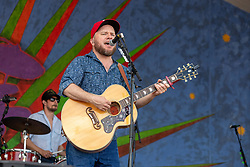 May 3, 2018 - New Orleans, Louisiana, U.S - CORY YOUNTS and CRITTER FUQUA of Old Crow Medicine Show during 2018 New Orleans Jazz and Heritage Festival at Race Course Fair Grounds in New Orleans, Louisiana (Credit Image: © Daniel DeSlover via ZUMA Wire)