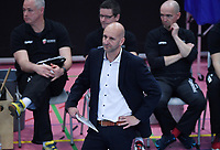Volleyball 1. Bundesliga  Saison 2018/2019 TV Rottenburg - VCO Berlin     15.01.2019 Trainer Hans Peter Mueller - Angstenberger (TV Rottenburg)