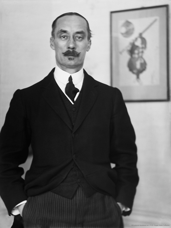 English Author C. Lewis Hind, 1912