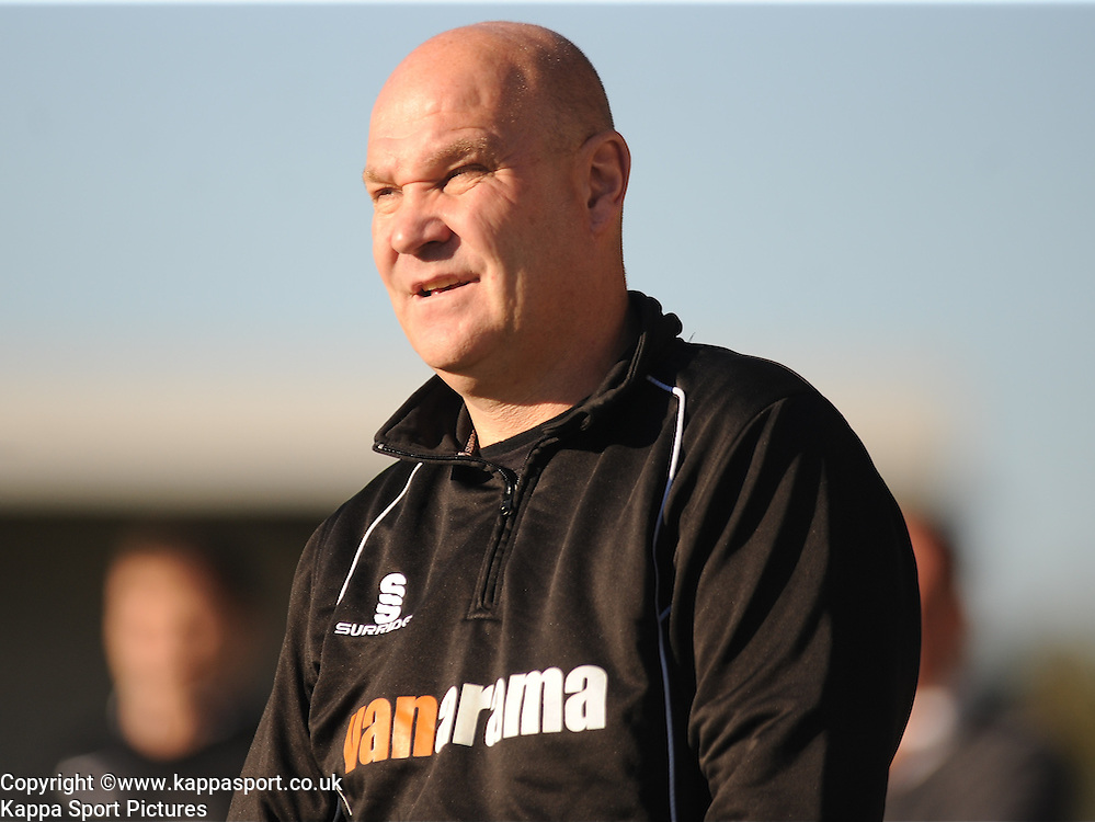 Richard Hill, Manager Eastleigh, Barnet v Eastleigh, Vanarama Conference, Saturday 4th October 2014