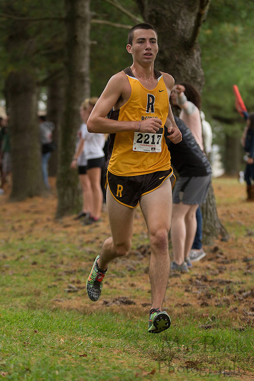 Rowan University Daniel Murray - Collegiate Track Conference  Cross-Country Men's Championship at Gloucester County College in Sewell, NJ on Saturday October 19, 2013. (photo / Mat Boyle)