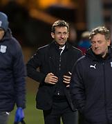 8th December 2017, Dens Park, Dundee, Scotland; Scottish Premier League football, Dundee versus Aberdeen; Dundee manager Neil McCann