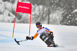 Super Combined and Super G, van BERGEN Barbara, LW11, NED at the WPAS_2019 Alpine Skiing World Championships, Kranjska Gora, Slovenia