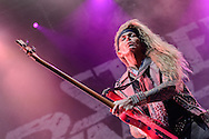 Steel Panther beim Open Flair 2014 in  Eschwege am 09.August 2014. Foto: Rüdiger Knuth