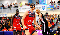 Josh Rogers of Bristol Flyers- Photo mandatory by-line: Nizaam Jones/JMP - 19/10/2019 - BASKETBALL - SGS Wise Arena - Bristol, England - Bristol Flyers v London Lions - British Basketball League Cup