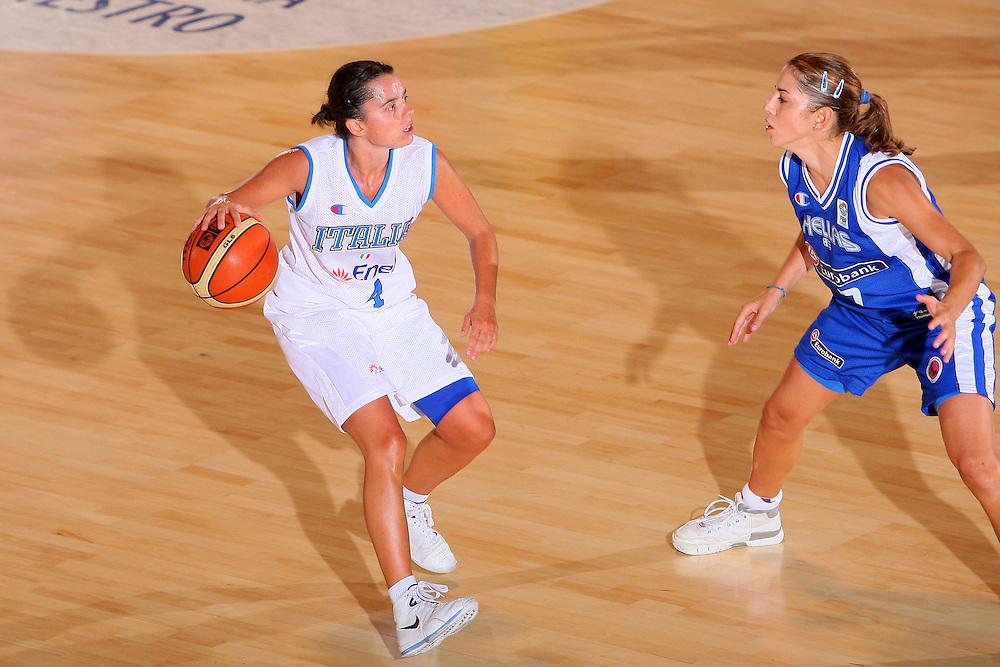 DESCRIZIONE : Bormio Torneo Internazionale Femminile Olga De Marzi Gola Italia Grecia <br /> GIOCATORE : Angela Gianolla <br /> SQUADRA : Nazionale Italia Donne Italy <br /> EVENTO : Torneo Internazionale Femminile Olga De Marzi Gola <br /> GARA : Italia Grecia Italy Greece <br /> DATA : 24/07/2008 <br /> CATEGORIA : Palleggio <br /> SPORT : Pallacanestro <br /> AUTORE : Agenzia Ciamillo-Castoria/S.Silvestri <br /> Galleria : Fip Nazionali 2008 <br /> Fotonotizia : Bormio Torneo Internazionale Femminile Olga De Marzi Gola Italia Grecia <br /> Predefinita :