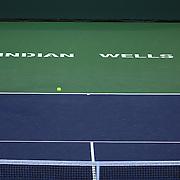Klaudia Jans-Ignacik and Andreja Klepac play Ekaterina Makarova and Elena Vesnina on Stadium 2 at the 2015 BNP Paribas Open in Indian Wells, California on Thursday, March 19, 2015.<br /> (Photo by Billie Weiss/BNP Paribas Open)