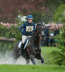 Zara Phillips at the Colt Pond, Badminton Horse Trials 2010, Stamford, England, May 5, 2010. Photo by Nico Morgan/i-Images.