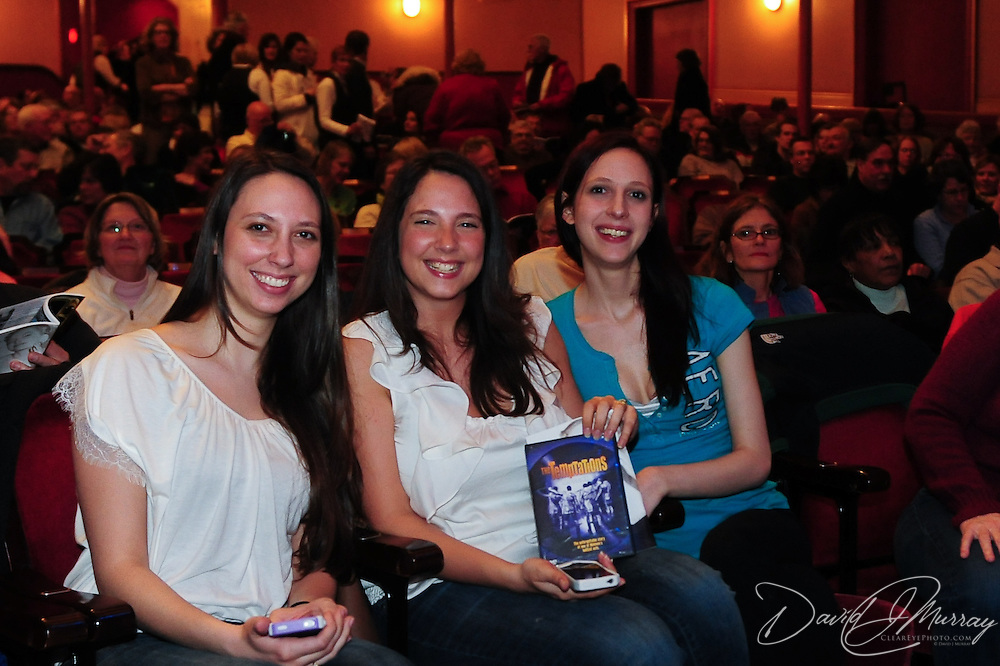 Audience members before the Temptations show at The Music Hall in Portsmouth, NH
