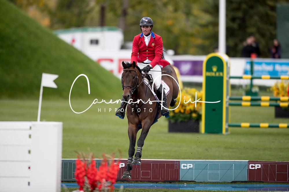 Judge Quentin, USA, HH Conrad<br /> CSIO 5* Spruce Meadows Masters - Calgary 2016<br /> © Hippo Foto - Dirk Caremans<br /> 11/09/16