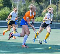 BLOEMENDAAL   -  Ankelein Baardemans (Bldaal)  oefenwedstrijd dames Bloemendaal-Victoria, te voorbereiding seizoen 2020-2021.   COPYRIGHT KOEN SUYK