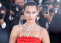 Bella Hadid at the Okja gala screening,  at the 70th Cannes Film Festival Friday 19th May 2017, Cannes, France. Photo credit: Doreen Kennedy