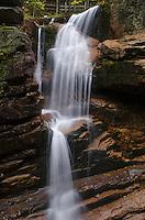 Avalanche Falls along Flume Gorge Trail, Franconia Notch White Mountains, New Hampshire