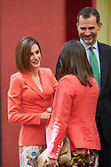 Queen Letizia of Spain attend the Ceremony to mark the bicentennial of the founding of the Council of the Greatness of Spain at Palacio de El Pardo on June 16, 2015 in Madrid