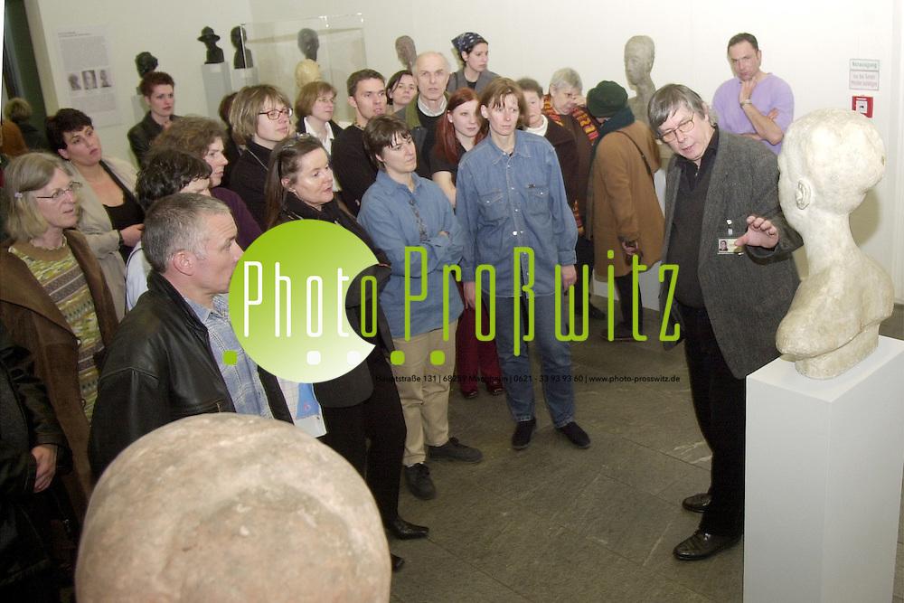 Mannheim. Lange Nacht der Museen 2001<br /> <br /> Bild: Pro&szlig;witz