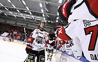 2020-03-06   Ljungby, Sverige: Boden firar efter att gjort 0-2 under matchen i Hockeyettan mellan IF Troja/Ljungby och Bodens HF i Ljungby Arena ( Foto av: Fredrik Sten   Swe Press Photo )<br /> <br /> Nyckelord: Ljungby, Ishockey, Hockeyettan, Ljungby Arena, IF Troja/Ljungby, Bodens HF, fstb200306, playoff, kval
