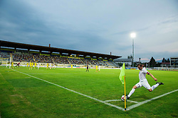 Matic Igor of FK Cukaricki during 1st Leg football match between NK Domzale (SLO) na FC Cukaricki (SRB) in 1st Round of Europe League 2015/2016 Qualifications, on July 2, 2015 in Sports park Domzale,  Slovenia. Photo by Vid Ponikvar / Sportida