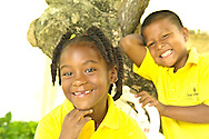 Panamanian children from low income and marginal neighborhoods, part of a social project created by Casa Esperanza, a domestic NGO which provides education and opportunities to working children.