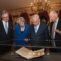 (C) Blake Ezra Photography Ltd. 2017.<br /> Balfour Declaration Centenary State Dinner, Lancaster House, London - 2nd November 2017