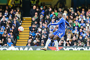 Chelsea's Kurt Zouma on the ball during the The FA Cup third round match between Chelsea and Scunthorpe United at Stamford Bridge, London, England on 10 January 2016. Photo by Shane Healey.