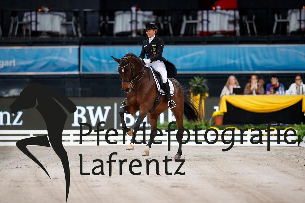 Michalke, Victoria (GER) Novia<br /> Stuttgart - German Masters 2016<br /> © www.sportfotos-lafrentz.de