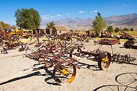 Farming Equipment, Laws Railroad Museum and Historic Site, Bishop, California