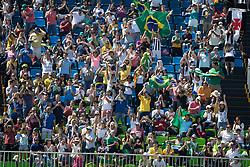 De Miranda Doda Alvaro , BRA, AD Cornetto K<br /> owner of the horse of Jerome with arms in the air<br /> Olympic Games Rio 2016<br /> © Hippo Foto - Dirk Caremans<br /> 14/08/16