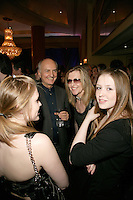 MMF Chairman Jazz Summers with Alison Wenham and her daughters