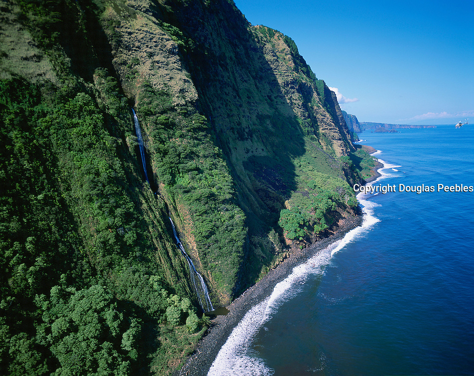 waterfall, Hamakua Coast, Island of Hawaii<br />