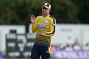 Hampshire t20 captain all-rounder Sean Ervine ahead of the NatWest T20 Blast South Group match between Middlesex County Cricket Club and Hampshire County Cricket Club at Uxbridge Cricket Ground, Uxbridge, United Kingdom on 27 May 2016. Photo by David Vokes.