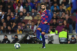 November 5, 2019, Barcelone, Espagne: FOOTBALL: FC Barcelona vs SK Slavia Praha Champions League.Gerard Pique (Credit Image: © Panoramic via ZUMA Press)