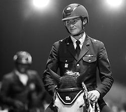 De Luca Lorenzo, (ITA), Limestone Grey<br /> Laiterie de Montaigu Trophy<br /> Longines Masters Paris 2016<br /> © Hippo Foto - Cara Grimshaw