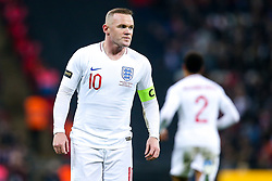 Wayne Rooney of England - Mandatory by-line: Robbie Stephenson/JMP - 15/11/2018 - FOOTBALL - Wembley Stadium - London, England - England v United States of America - International Friendly