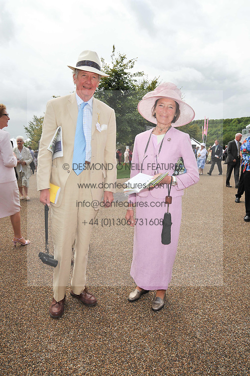VISCOUNT & VISCOUNTESS MARCHWOOD at the 3rd day of the 2009 Glorious Goodwood racing festival held at Goodwood Racecourse, West Sussex on 30th July 2009.