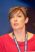 Hazel Danson, NUT, speaking at the TUC Conference 2010.