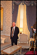 MATHEW PRICHARD; AGATHA CHRISTIE'S GRANDSON, launch of Sophie Hannah's Agatha Christie ' The Monogram Murders ' at the Ritz London. 8 September 2014