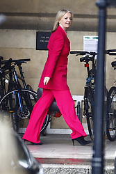 © Licensed to London News Pictures. 13/06/2019. London, UK. Liz Truss is seen at Parliament. Candidates for the leadership of the Conservative Party are facing the first round of voting in Parliament today. Photo credit: Peter Macdiarmid/LNP
