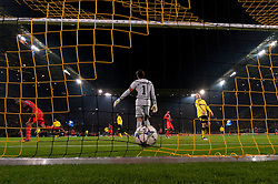 06.12.2011, Signal Iduna Park, Dortmund, GER, UEFA Champions League, Gruppe F, Vorrunde, Borussia Dortmund (GER) vs Olympique Marseille (FRA), im Bild 1-2 durch Loic Remy (#11 Marseille) // during the football of UEFA Champions League, Pool F, Borussia Dortmund (GER) vs. Olympique Marseille (FRA) at Signal Iduna Park, Dortmund, GER, on 2011/12/06. EXPA Pictures © 2011, PhotoCredit: EXPA/ nph/ Kurth..***** ATTENTION - OUT OF GER, CRO *****