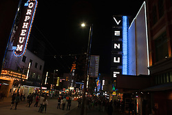Granville Street at night Vancouver, British Columbia, Canada