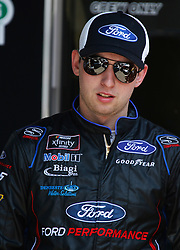 April 13, 2018 - Bristol, TN, U.S. - BRISTOL, TN - APRIL 13:  #98: Chase Briscoe, Biagi-DenBeste Racing, Ford Mustang Ford during practice for the 36th annual Fitzgerald Glider Kits 300 on Friday April 13, 2018 at Bristol Motor Speedway in Bristol Tennessee (Photo by Jeff Robinson/Icon Sportswire) (Credit Image: © Jeff Robinson/Icon SMI via ZUMA Press)