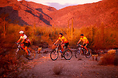 02451 Mountain Biking White Tanks Park Phoenix Arizona PHX bicycle trail bike family travel tourism