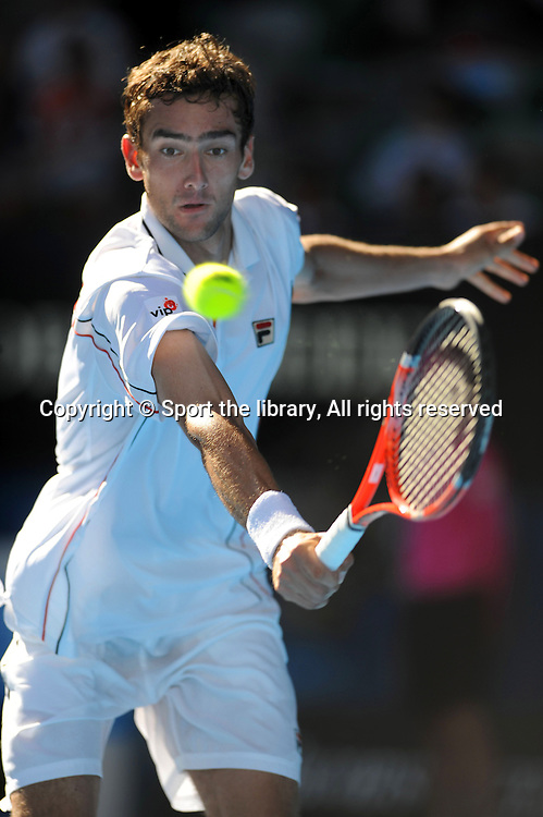 Marin Cilic (CRO) Q-Finals<br /> 2010 Australian Open Tennis<br /> Melbourne Park, Victoria<br /> January 18 - 31 2010<br /> &copy; Sport the library/Jeff Crow