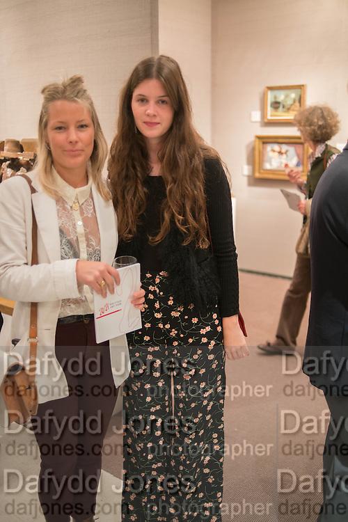 DAVINA HARBORD; ALEXANDRA CRONAN, 20/21 British Art Fair. Celebrating its 25 Anniversary. The Royal College of Art . Kensington Gore. London. 12 September 2012.