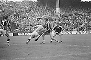 Players going for the ball at All Ireland Senior Hurling Final - Kilkenny v Galway, Kilkenny 2-12, Galway 1-8, 2nd September 1979.