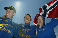 AUTO - WRC 2003 - CYPRUS RALLY -  20030622 - PHOTO : FRANCOIS BAUDIN / DIGITALSPORT<br />PETTER SOLBERG (NOR) / SUBARU IMPREZA WRC - AMBIANCE - PORTRAIT